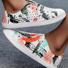Women's EVA Flat Heel Flats Round Toe Sneakers With Splice Color shoes