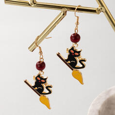 Attractive Charming Artistic Delicate Alloy With Imitation Stones Women's Ladies' Earrings