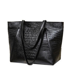 Alligator Pattern/Commuting/Travel/Super Convenient Satchel/Tote Bags/Crossbody Bags/Shoulder Bags/Hobo Bags
