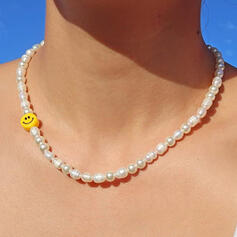 Simple Delicate Luck Pearl Women's Ladies' Girl's Necklaces