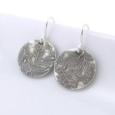 Charming Artistic Delicate Alloy With Flower Pattern Women's Earrings