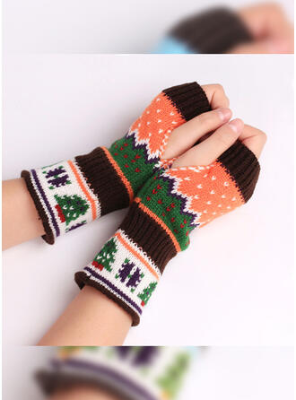 Christmas/Graphic Prints fresh/Colorful Gloves