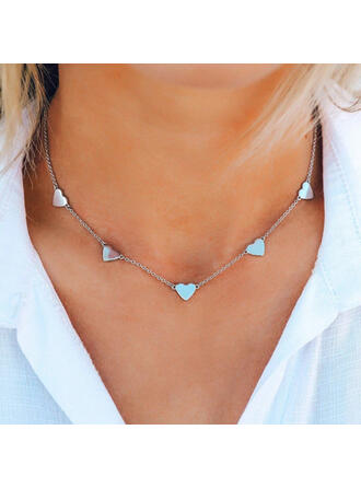 Charming Artistic Delicate Alloy With Metal Chain Décor Women's Necklaces