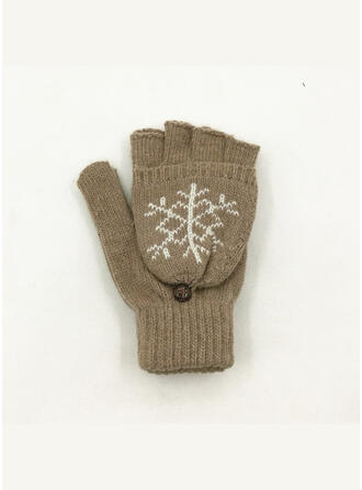 Solid Color/Graphic Prints attractive/simple Gloves