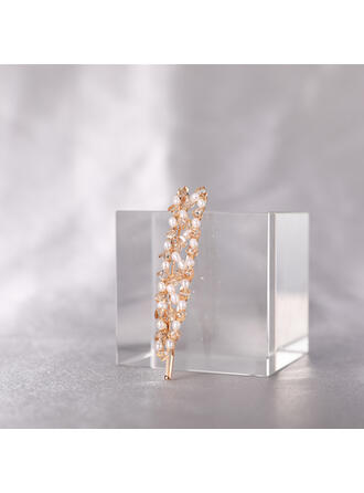 Child's/Women's Beautiful/Classic/Elegant Alloy/Plastic With Pearl Hairpins