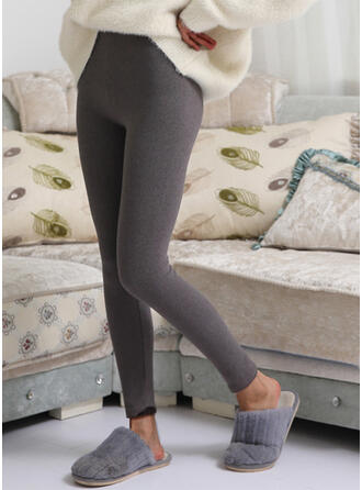 Solid Sexy Skinny Leggings