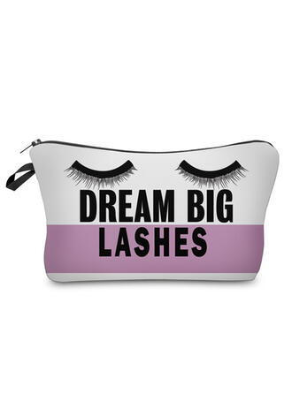 Letter Makeup Bags